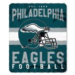 Philadelphia Eagles Football, Established 1933, Fleece Throw Blanket